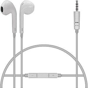 Fone ouvido Com Microfone 1,5m 10mm Plug P2