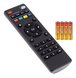 Controle Remoto Smart TV 4K Dig7021 Inov DIG-7021 +Pilhas