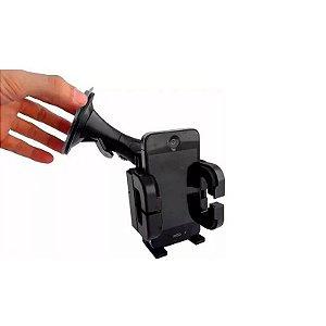 Suporte Articulado Veicular Automotivo P/ Celular c/ Ventosa