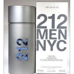 Tester TESTER Perfume CH 212 Tradicional Masculino EDT 100ml