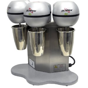 BMS-3-N Batedor de Milk Shake com Copo Inox e 3 Hastes Skymsen