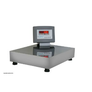 Balança Eletrônica Plataforma Inox 200 Kg Sem Coluna Visor Led Welmy