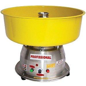 Máquina de Algodão Doce Clean Bivolt Profissional Ademaq Amarelo