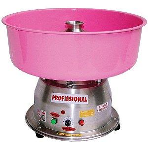 Máquina de Algodão Doce Clean Bivolt Profissional Ademaq Rosa