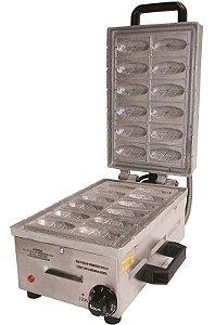 Crepeira Elétrica Mini Crepe 12 Cavidades Ademaq