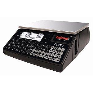 Balança Computadora Com Impressor de Etiquetas Integrado 30 Kg Wi-fi Orion 1 Plus Balmak