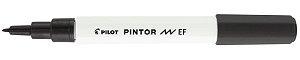 MARCADOR PINTOR PONTA EXTRA FINA 0.7 PRETO - PILOT