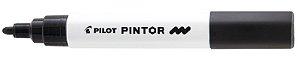 MARCADOR PINTOR PONTA MÉDIA 1.4 PRETO - PILOT