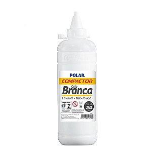 COLA POLAR BRANCA 250G - COMPACTOR