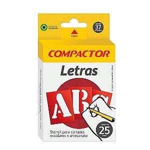 LETRAS VAZADAS ABC 25MM - COMPACTOR