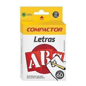 LETRAS VAZADAS ABC 60MM - COMPACTOR