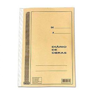 LIVRO DIÁRIO DE OBRAS 50X3 - FORTAN