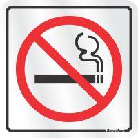 PLACA PROIBIDO FUMAR - SINALIZE