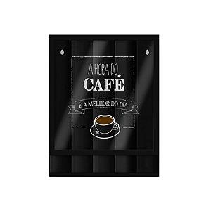 PORTA CÁPSULAS DE PAREDE A HORA DO CAFÉ - GEGUTON