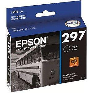 CARTUCHO EPSON T297120BR PRETO - 8ML