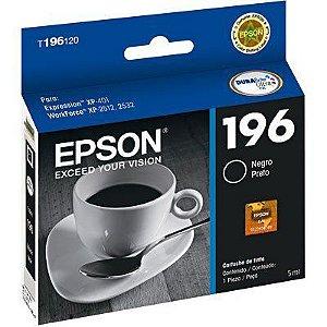 CARTUCHO EPSON T196120BR PRETO - 5ML