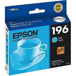 CARTUCHO EPSON T196220BR CIANO - 4ML
