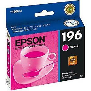 CARTUCHO EPSON T196320BR MAGENTA - 4ML