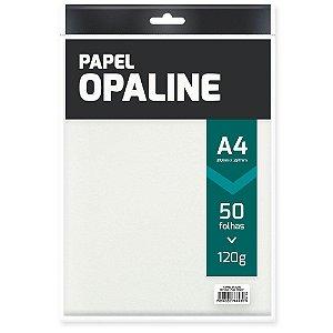 PAPEL OPALINE A4 120 G/M² BRANCO C/50 FLS - SPIRAL