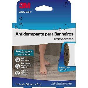 FITA ANTIDERRAPANTE PARA BANHEIROS SAFETY-WALK 50MMX5M TRANSPARENTE - 3M