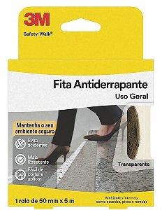FITA ANTIDERRAPANTE SAFETY-WALK 50MMX5M TRANSPARENTE - 3M