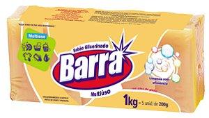 SABÃO GLICERINADO BARRA - 1KG