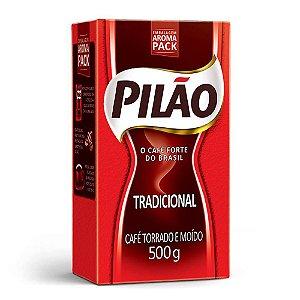 CAFÉ PILÃO TRADICIONAL - 500G