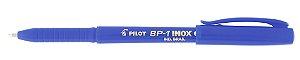 CANETA ESFEROGRÁFICA BP-1 INOX 1.0MM AZUL - PILOT