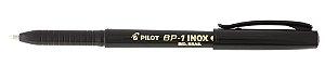 CANETA ESFEROGRÁFICA BP-1 INOX 1.0MM PRETA - PILOT