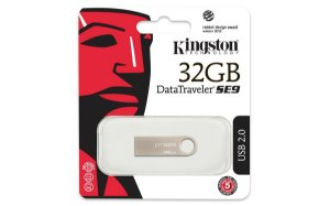 PEN DRIVE DTSE9H/32GB CINZA - KINGSTON