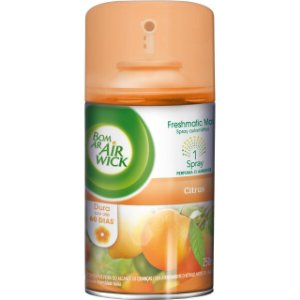 BOM AR AIR WICK FRESHMATIC REFIL CITRUS - 250ML