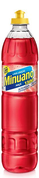 DETERGENTE LÍQUIDO MAÇÃ MINUANO - 500ML
