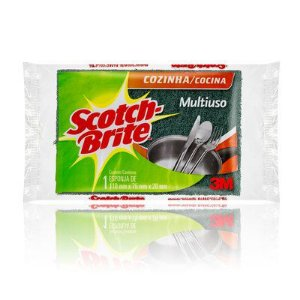 ESPONJA MULTIUSO DUPLA FACE SCOTCH-BRITE - 3M