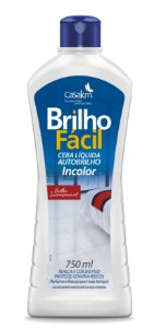CERA LÍQUIDA INCOLOR BRILHO FÁCIL - 750ML