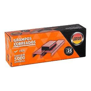 GRAMPO COBREADO 26/6 C/5000 UNIDADES - JOCAR OFFICE