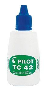 TINTA PARA CARIMBO TC 42ML AZUL - PILOT