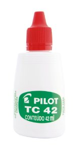 TINTA PARA CARIMBO TC 42ML VERMELHA - PILOT