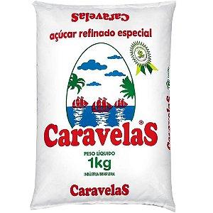 AÇÚCAR CARAVELAS REFINADO - 1KG