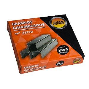 GRAMPO GALVANIZADO 23/10 C/1000 UNIDADES - JOCAR OFFICE