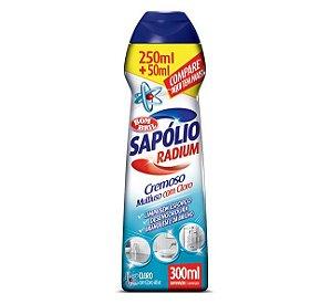 SAPÓLIO RADIUM CREMOSO CLORO - 300ML