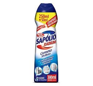 SAPÓLIO RADIUM CREMOSO CLÁSSICO - 300ML