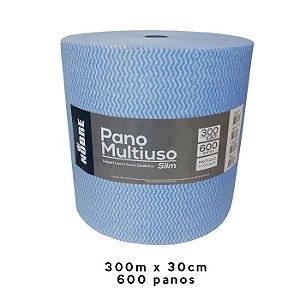 PANO MULTIUSO SLIM 300MX30CM AZUL - NOBRE