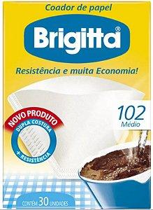 FILTRO DE PAPEL 102 C/30 UNIDADES - BRIGITTA