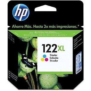 CARTUCHO HP 122XL CH564HB COLORIDO - 7,5ML