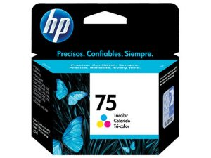 CARTUCHO HP 75 CB337WB PRETO - 5,5ML
