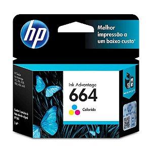 CARTUCHO HP 664 F6V28AB COLORIDO - 2ML