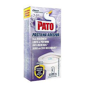 PATO PASTILHA ADESIVA LAVANDA C/3 UNIDADES - SC JOHNSON