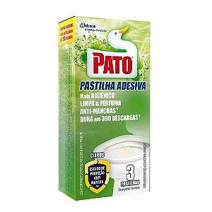 PATO PASTILHA ADESIVA CITRUS C/3 UNIDADES - SC JOHNSON