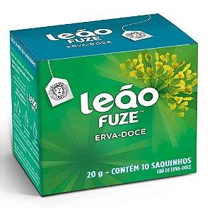 CHÁ ERVA-DOCE C/10 SAQUINHOS - LEÃO FUZE