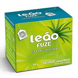 CHÁ CAPIM-CIDREIRA C/10 SAQUINHOS - LEÃO FUZE
